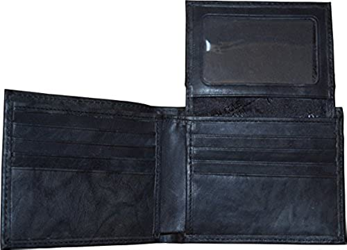 06. Kenneth Cole Reaction Men's Genuine Leather Passcase Wallet With Gift Box