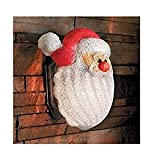 Trenton Gifts Santa Holiday Christmas Porch Light Covers | Set of 2 | Perfect for The Holidays