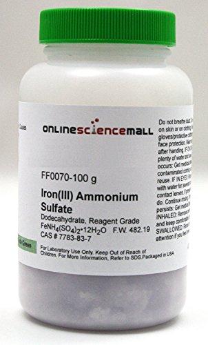 Top 4 ammonium iron iii sulfate