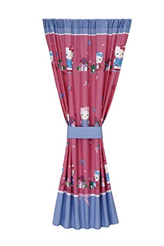 Sanrio Hello Kitty Springtime Friends Window Panel, Pink