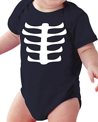 Cute Baby Skeleton Baby Halloween Onesie / Bodysuit