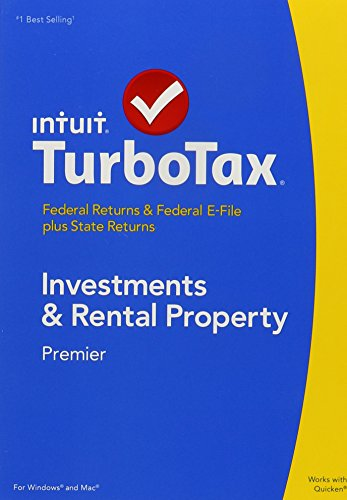 (TurboTax 2014 Premier Investments and Real Estate Federal/State 2014 PC/MAC CD/DVD/Old Version )