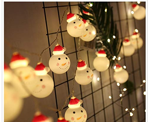 Solar Power Christmas Snowman Light in US - 6