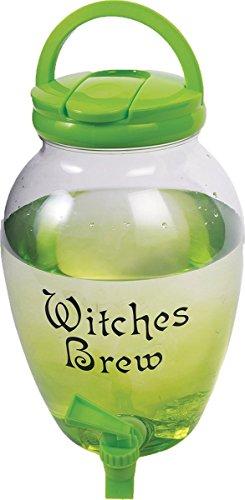 Witches Drink Dispenser Halloween Pitcher