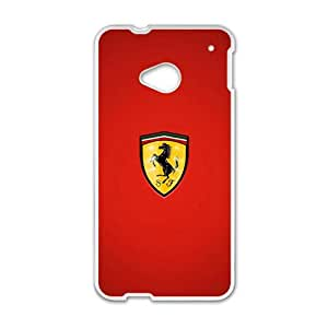 QQQO Famous car logo Ferrari Phone case for Htc one M7