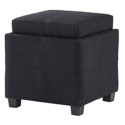 Phenomenal Amazon Com Otto Fabric Ottoman Storage Cube Square Alphanode Cool Chair Designs And Ideas Alphanodeonline