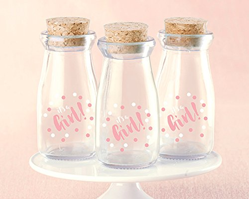 60 It's A Girl Milk Jars