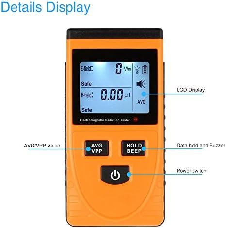 Docooler Electromagnetic Radiation Tester Wave Radiation Detector ...