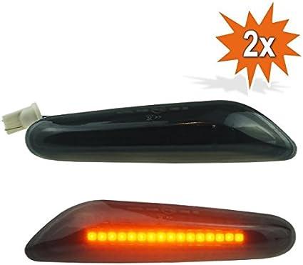 Pages clignotants LED Noir Fum/é