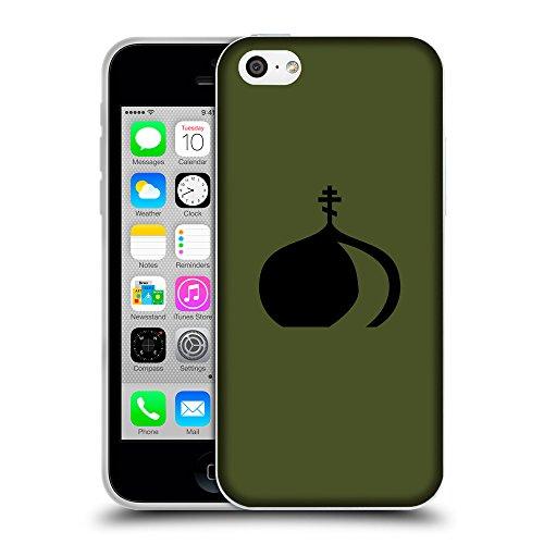 GoGoMobile Coque de Protection TPU Silicone Case pour // Q08380605 Religion 2 armée verte // Apple iPhone 5C