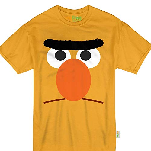 Yellow Puppet Bert Halloween Monster Costume Kids &