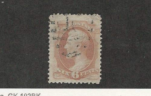 United States, Postage Stamp, 186 Used, 1879 Abe Lincoln, JFZ