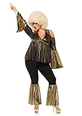 Leg Avenue Women's Plus Size Disco Diva Costume