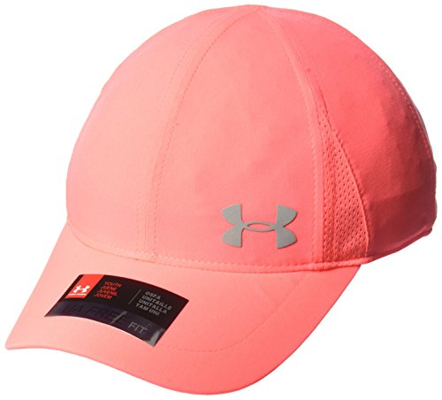 Under Armour Girls' Shadow Cap, Brilliance (819)/Silver, One Size Shadow Baseball Cap Hat