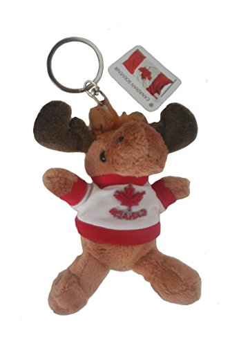 Canada Moose Plush Toy Keychain .. Size : 4 1/2
