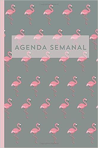 Agenda semanal Flamenco Diario Calendario Organizador regalo ...