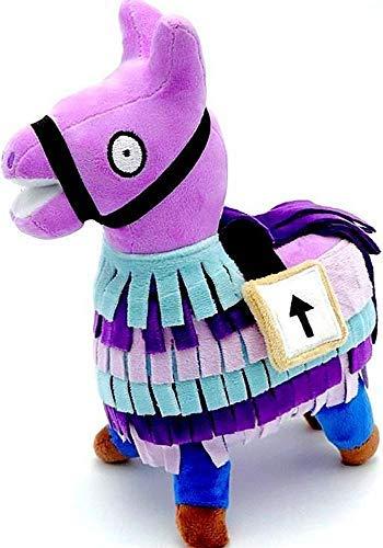 ALLYK Loot Llama Plush Stuffed Toy Doll, Figures Video Game Alpaca -