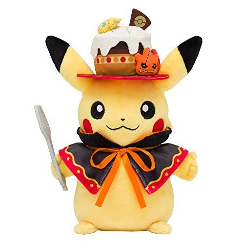 Pokemon Center Original Plush Doll We are Team Treat! Halloween Pikachu 908