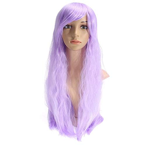 Wig Cleanser - Purple 70cm Corn Perm Long Curly Wavy Cosplay Wig Party Daily Wigs - Hair & Accessories Cosplay & Costume Wig - 1Pc x 100ml Washing Wax Cleanser
