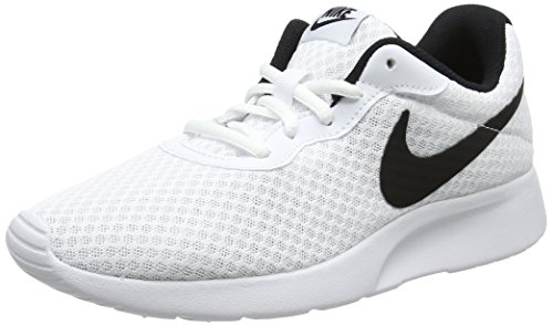 Nike Women's Nike Tanjun White/Black Running Shoes Size 8