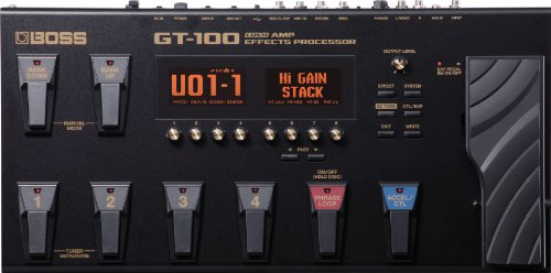 BOSS GT-100 Guitar Multi-effects Pedal from BOSS