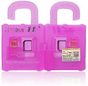 ☆ R-SIM 11+ PLUS para iOS 10.x 4G LTE UnlockCard for ALL iPhone desde 4S hasta 7 plus ENVIO DESDE ESPAÑA: Amazon.es: Electrónica