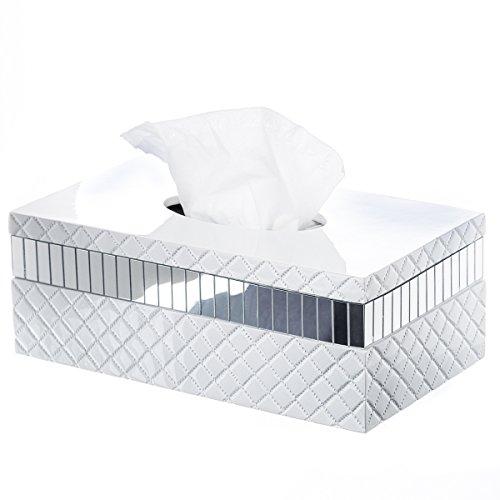 quilted-mirror-tissue-box-cover-rectangular-10-x-58-x-375-decorative-bath-tissues-paper-napkin-holde