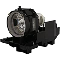 AuraBeam Professional Hitachi CPX605 Projector Replacement Lamp with Housing (Powered by Ushio)