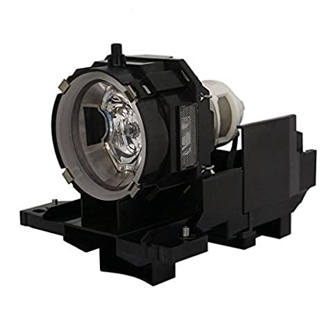 AuraBeam Professional Hitachi CPX605 Projector Replacement Lamp with Housing (Powered by Ushio) (Replacement Lamp Hitachi Dt00771)