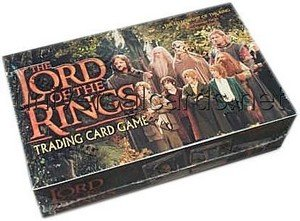 Lord of the Rings Trading Card Game: Fellowship of the Ring Booster Box by Webkinz