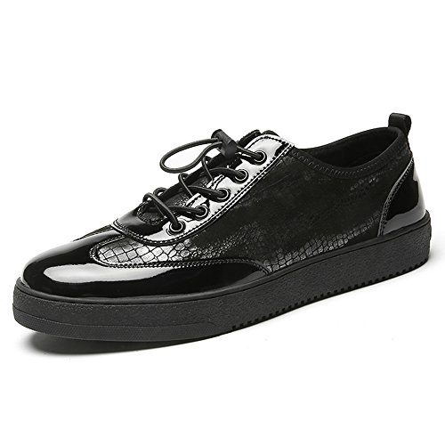 Men's Shoes Feifei Spring and Autumn Youth Trend Leisure Leather Shoes 2 Colours 01 THZVdqA8