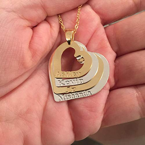 Amazon Layered Love Mom Necklace