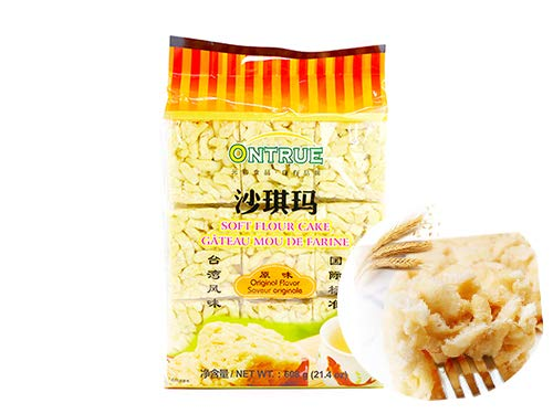 Amazon.com : ONTRUE Sachima Soft Flour Cake Taiwan Style(Sesame), No Gelatin, No artificial Flavors, Gluten Free. Instant Healthy Food, Perfect For Gift, ...