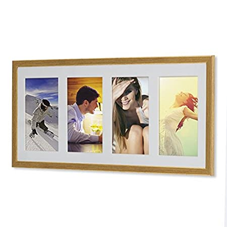 Wooden G41 Frame for Pictures 10 x 15, 13 x 18, 15 x 20 with White ...