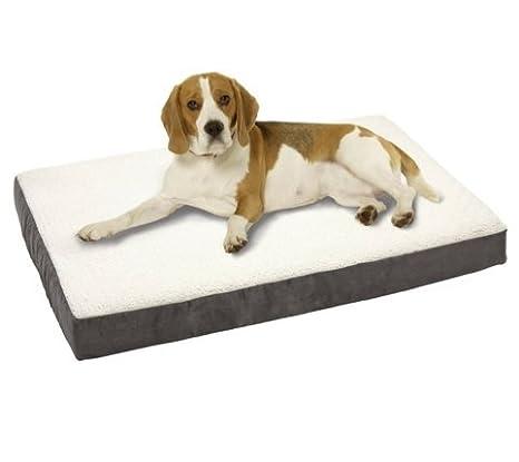 Perros Cojín Ortho Bed rectangular con núcleo de interior Viscoelástica S de l - Gris hundeli egekisse?N Salud Cojín cama para perros: Amazon.es: Productos ...
