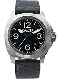 M81 Automatic Black Watch   Leather Watch Band