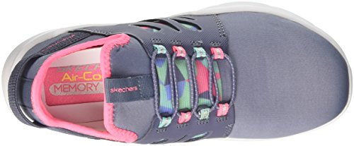 multicolour Baskets Street Squad Enfiler Skechers Gris Fille grey q84nx