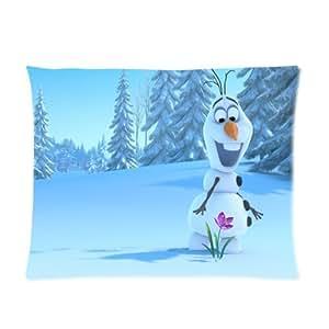 Cute Olaf Pillow : Amazon.com: Disney Movie 3D Cartoon Frozen Cute Olaf Custom Picture Pillow Cases 20x26 (one side ...
