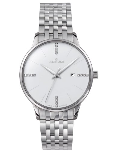 Junghans Meister Lady - with Diamonds Made in Germany 047/4373.44