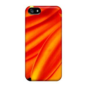 High Quality Mialisabblake Pure Orange Flower 1080p Skin Case Cover Specially Designed For Iphone - 5/5s