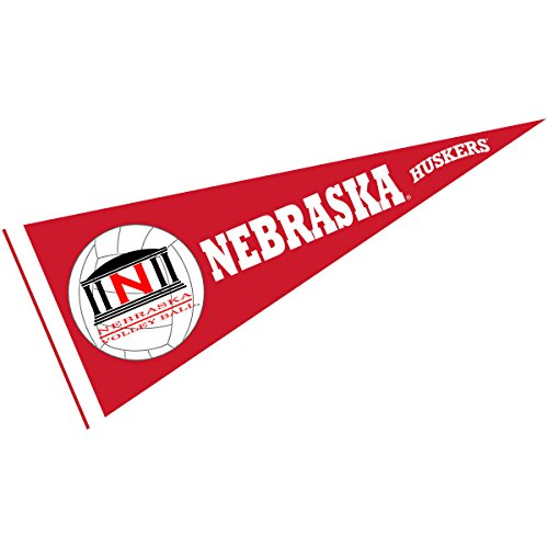 Nebraska Huskers Volleyball Pennant