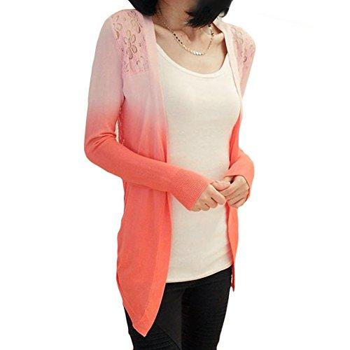 Diseño de flores y de encaje y LOCOMO Color para bola de chaqueta para diseño cascada de la pérdida de Color a través de carcasa FFJ034GRN Rosa