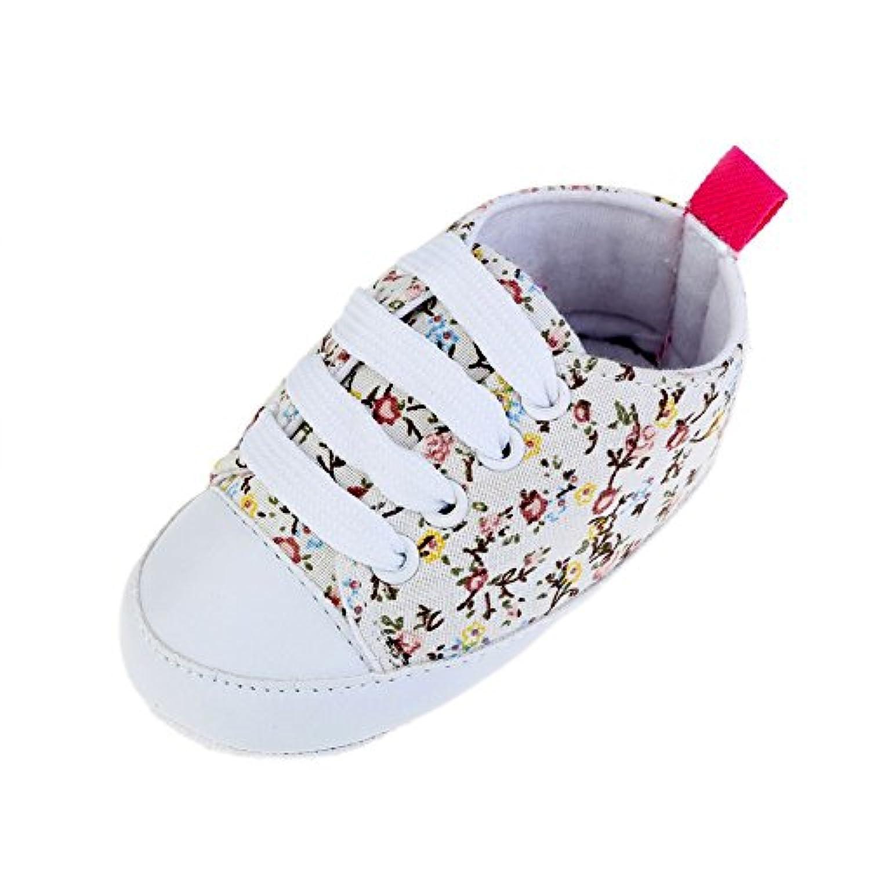 ROPALIA Kids Baby Shoes Soft Sole Casual Cotton Sneaker Prewalker