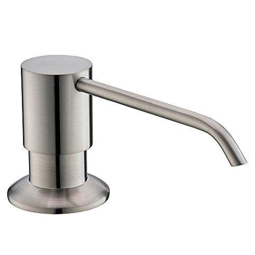 Dishwashing Stainless Steel Kitchen Liquid Soap Dispenser,Brushed (Liquid Stainless Steel)