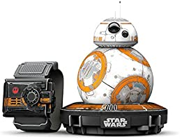 Sphero R001SUS Star Wars BB-8 App Controlled Robot with Star Wars Force Band