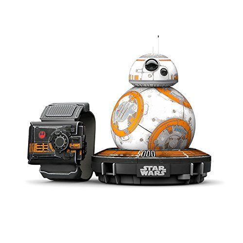 Sphero R001SUS  Star Wars BB-8 App Controlled Robot with Star Wars Force - Usa Apps
