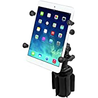 RAM Mounts (RAP-299-3-UN8U) Ram-A-Can Ii Universal Cup Holder Mount with Universal X-Grip Ii Holder for 7 Tablets Including the Ipad Mini 1-3