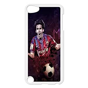 Generic Design Back Case Cover Ipod Touch 5 Cell Phone Case White Lionel Messi Trwdsv Plastic Case