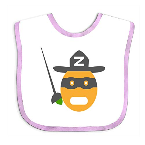 Baby Bandana Clem Masked Smiley Zorro Drool Bibs - Cute Unisex Design for Boys and ()