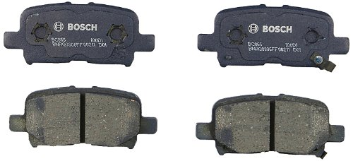 Bosch BC865 QuietCast Premium Disc Brake Pad (Brake Pad Shim Set)